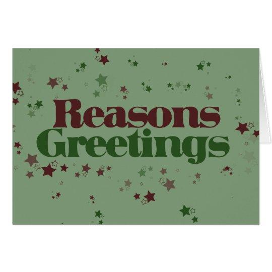 Atheist reasons greetings card zazzle atheist reasons greetings card m4hsunfo