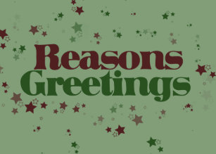 Atheist christmas cards zazzle atheist reasons greetings holiday card m4hsunfo