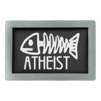 Atheist Rectangular Belt Buckle