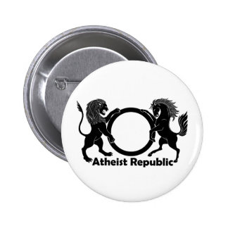 Atheist Republic 2 Inch Round Button