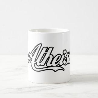 Atheist Retro Logo - Cool and Classic Classic White Coffee Mug
