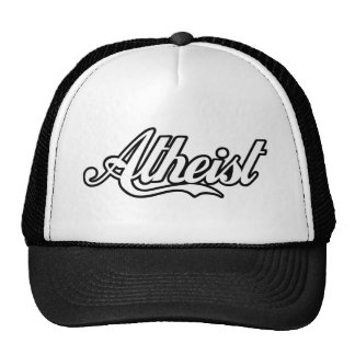 Atheist Retro Logo - Cool and Classic Trucker Hat