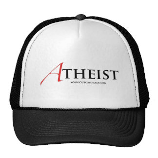 Atheist (Scarlet Letter) Trucker Hat