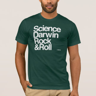 Atheist - Science darwin rock and roll T-Shirt