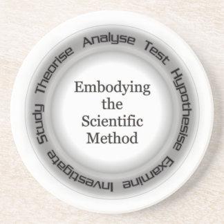 Atheist Scientific Method Acronym Coaster