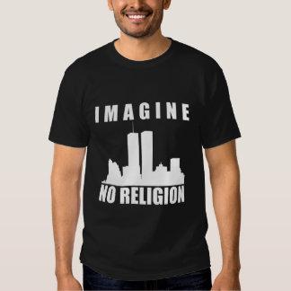 Atheist shirt. Imagine no religion T Shirt