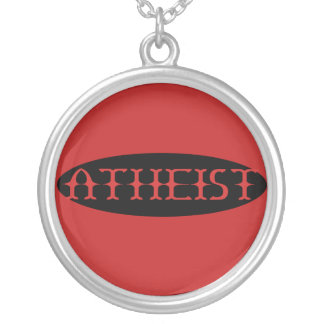 Atheist Silver Plated Necklace