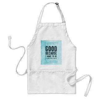 Atheist, skeptic adult apron