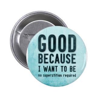 Atheist, skeptic button