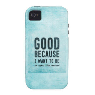 Atheist, skeptic vibe iPhone 4 cases