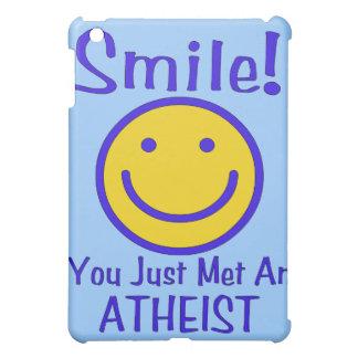 Atheist Smiley iPad Mini Cover
