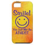 Atheist Smiley iPhone 5 Cases