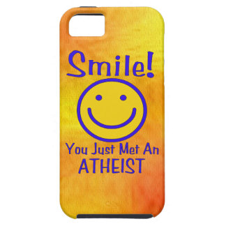 Atheist Smiley iPhone 5 Covers
