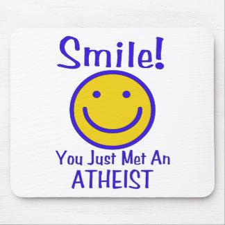Atheist Smiley Mouse Pad