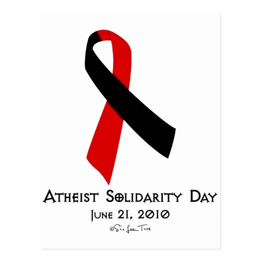 Atheist Solidarity Day Postcard
