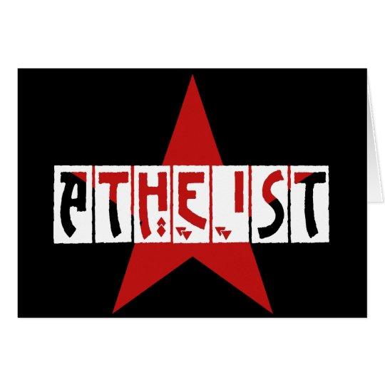 Atheist Star Card