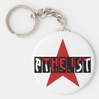 Atheist Star Keychain