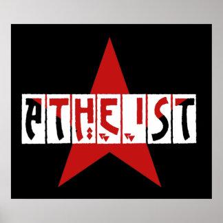 Atheist Star Print