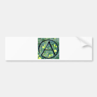 Atheist Symbol Bumper Sticker