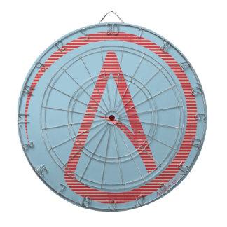 Atheist Symbol Dartboard
