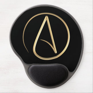 Atheist Symbol Gel Mouse Pad