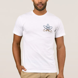 atheist symbol left-chest T-Shirt