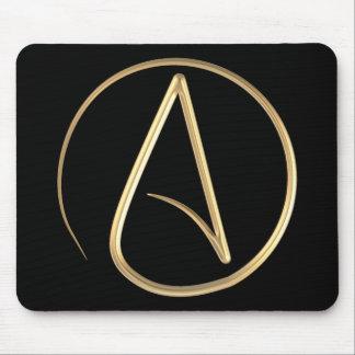 Atheist Symbol Mouse Pad
