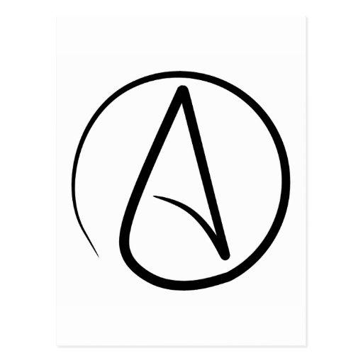 Atheist Symbol Postcards