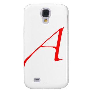 Atheist Symbol (Red A) Samsung Galaxy S4 Case