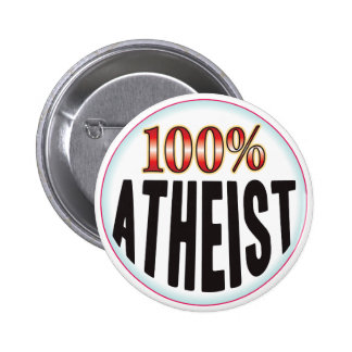 Atheist Tag 2 Inch Round Button