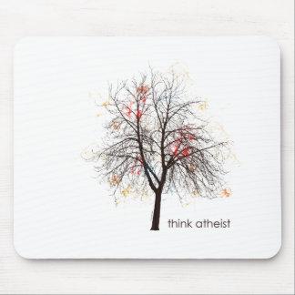Atheist Tree Mouse Pad