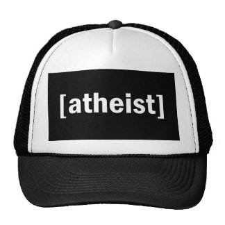 [atheist] trucker hat