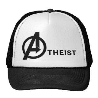 Atheist trucker trucker hat