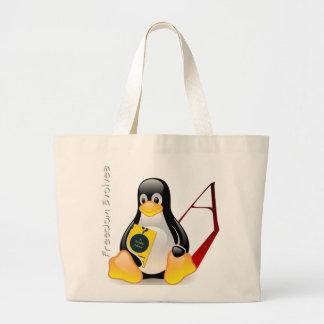 Atheist Tux (Freedom Evolves) Bags