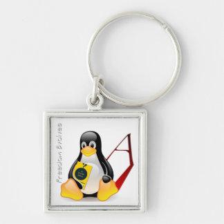 Atheist Tux (Freedom Evolves) Keychain
