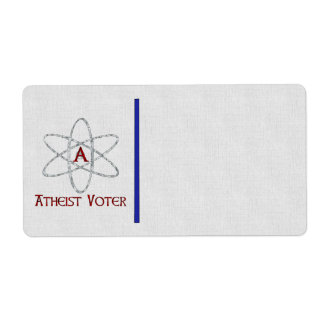 ATHEIST VOTER LABEL