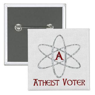 ATHEIST VOTER PINBACK BUTTON