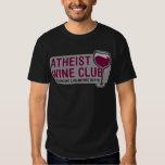 Atheist Wine Club Shirts