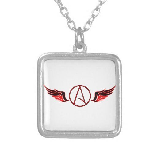 Atheist Wings Necklaces