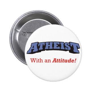 Atheist - With an Attitude! Pins