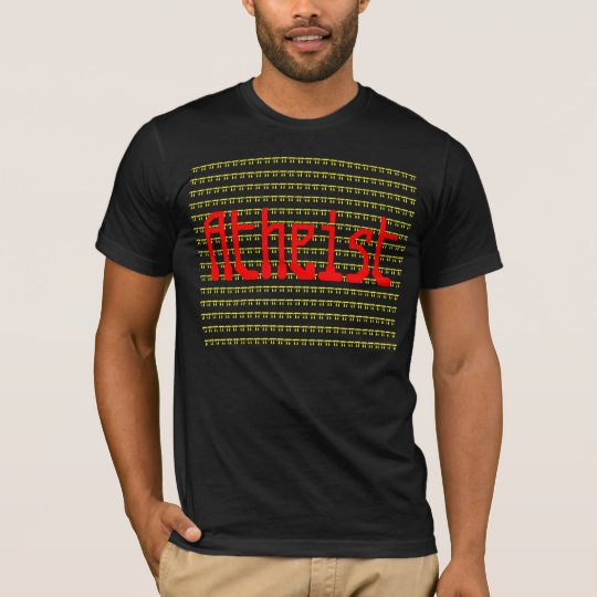 Atheist with pi background. T-Shirt