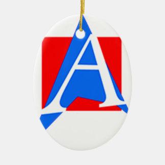 Atheistic of Puerto Rico Ceramic Ornament