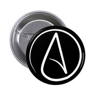 Atheist's Badge Pinback Button