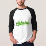 Atheists Faux Baseball Jersey T-Shirt