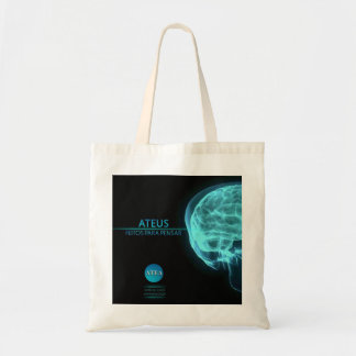Atheists - made to think tote bag