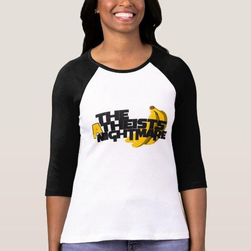 Atheists Nightmare T-shirts