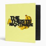 Atheists Nightmare Vinyl Binder