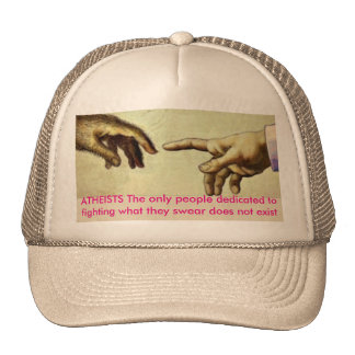 ATHEISTS TRUCKER HAT