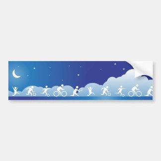 Athelete Banner Bumper Sticker