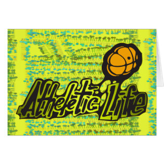 Atheletic Life Card